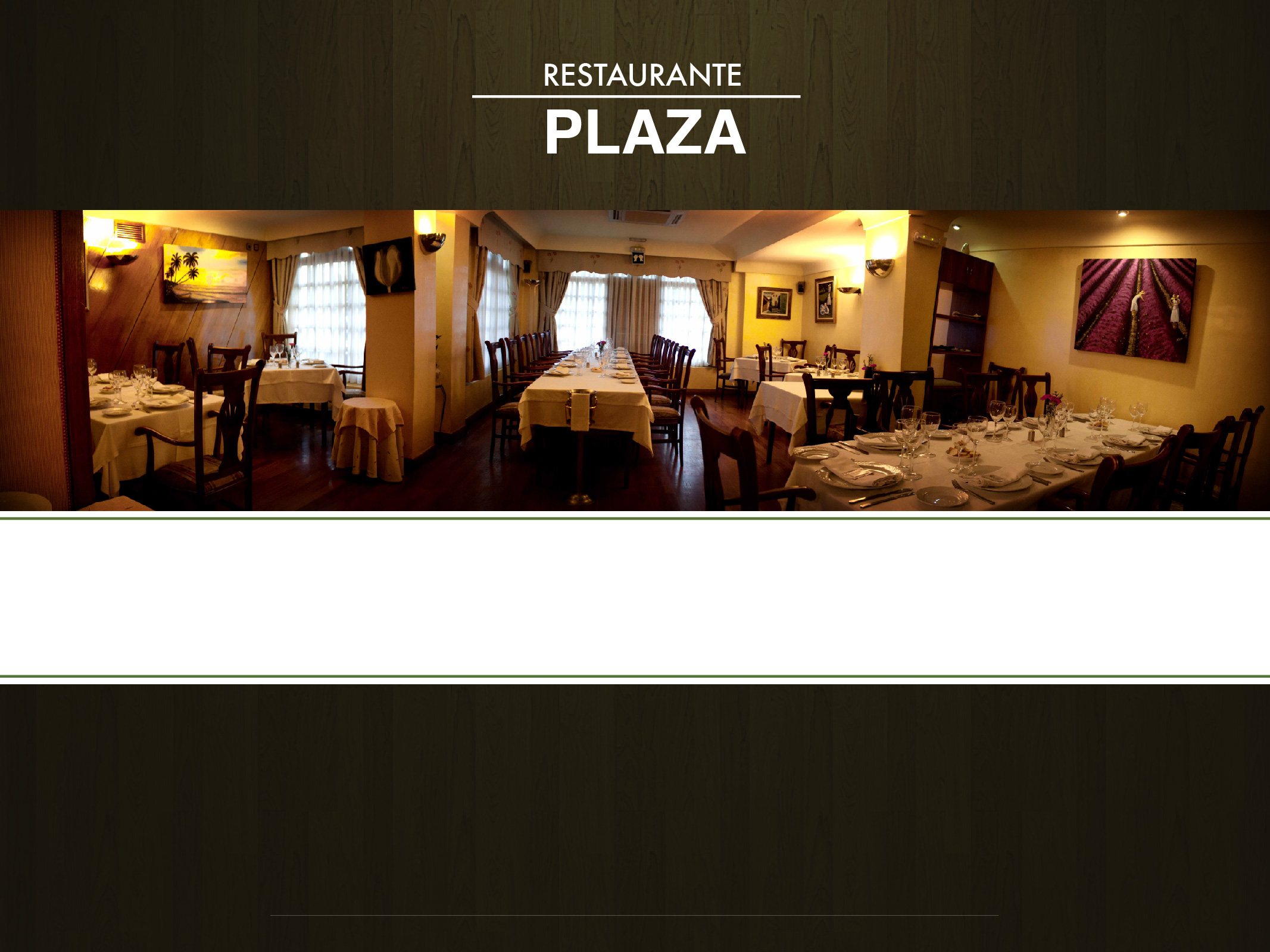 Restaurante Plaza Madrid